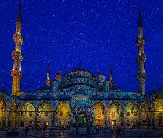 Modrá mešita Turecko