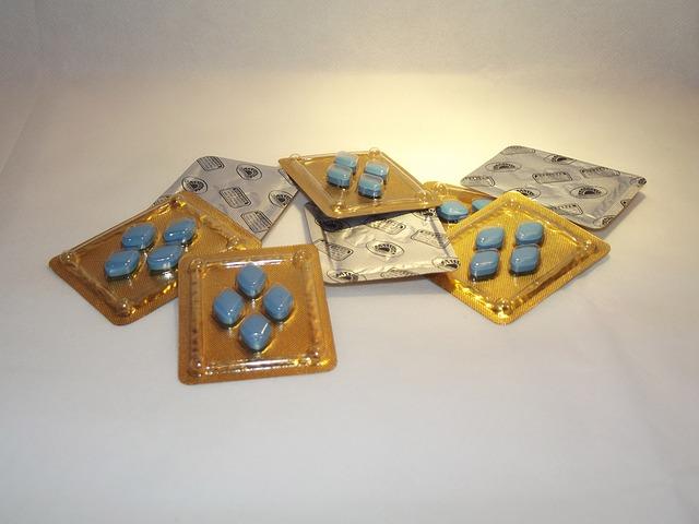 modré pilulky na erekci
