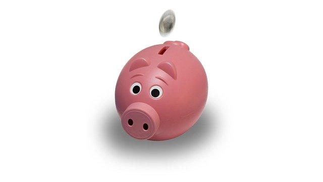 pokladnička na peníze